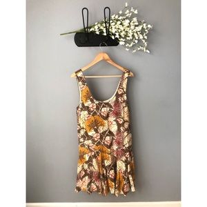 🎀 NWOT • Free People • Floral Mini Dress
